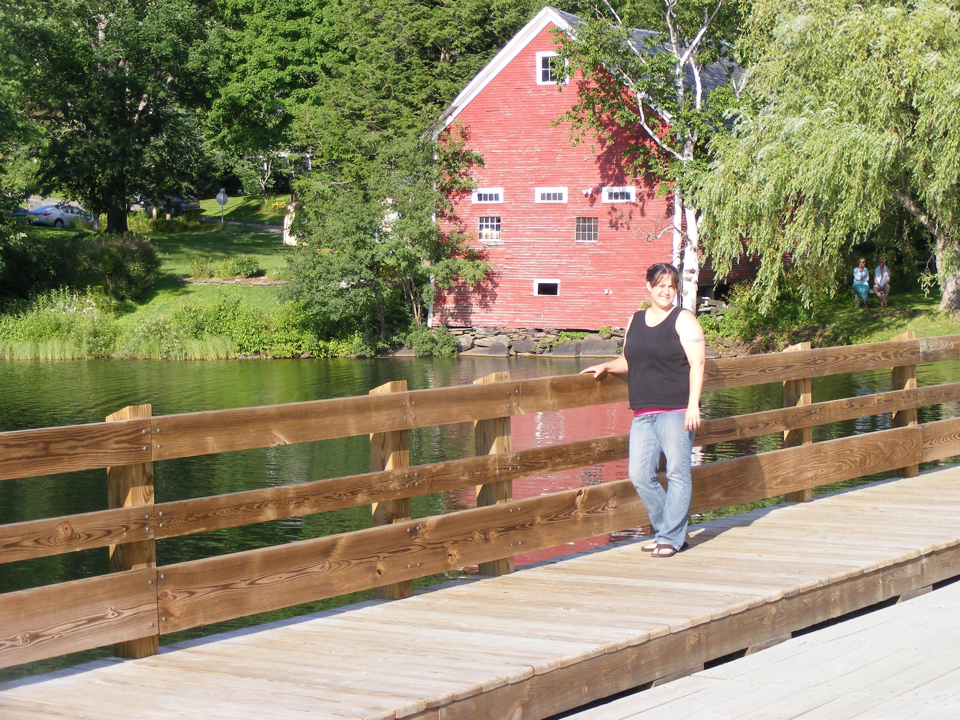 Historical Marker - Brookfield, VT Floating Bridge