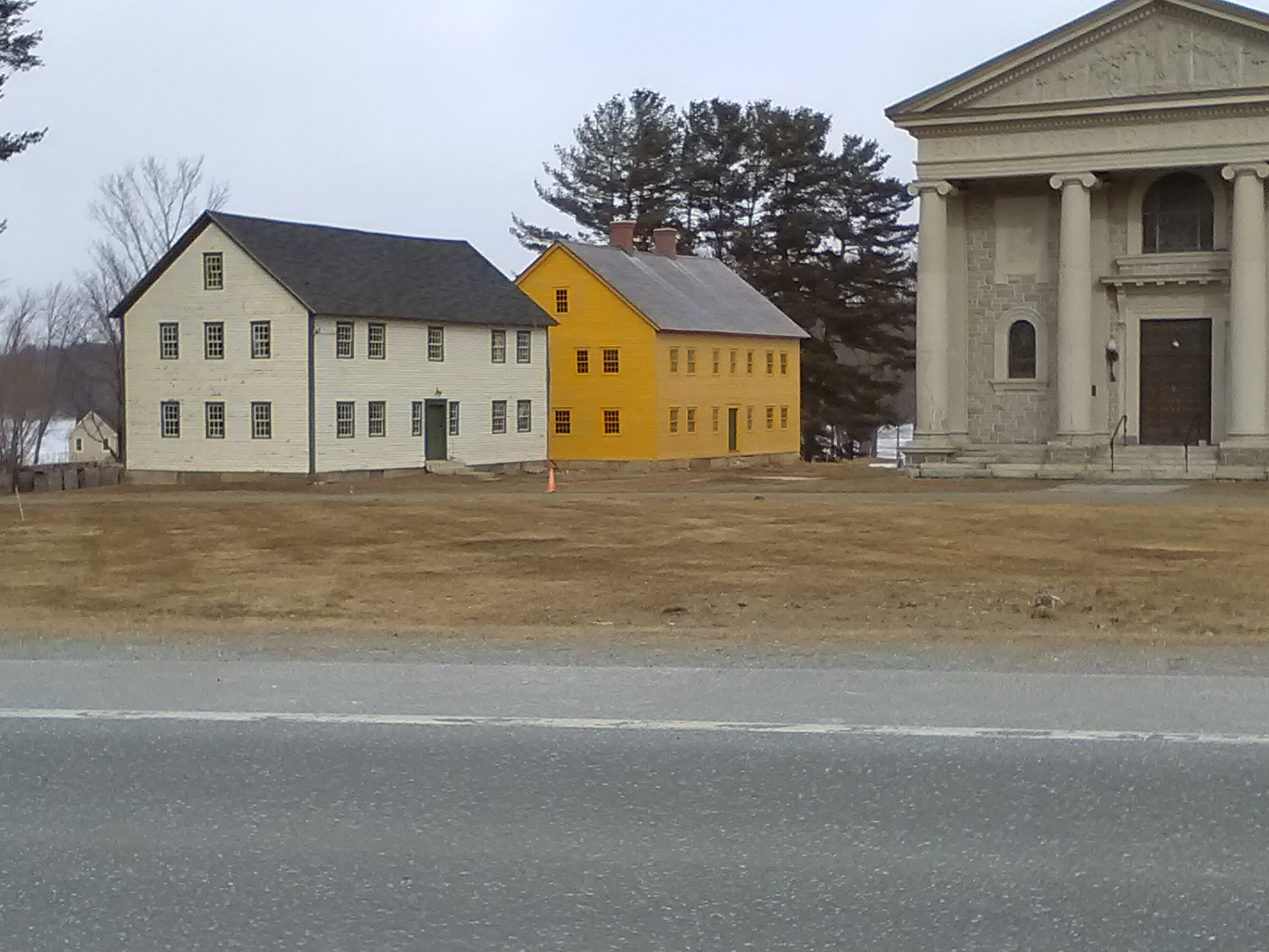 Historical Shaker Village in Enfield, NH