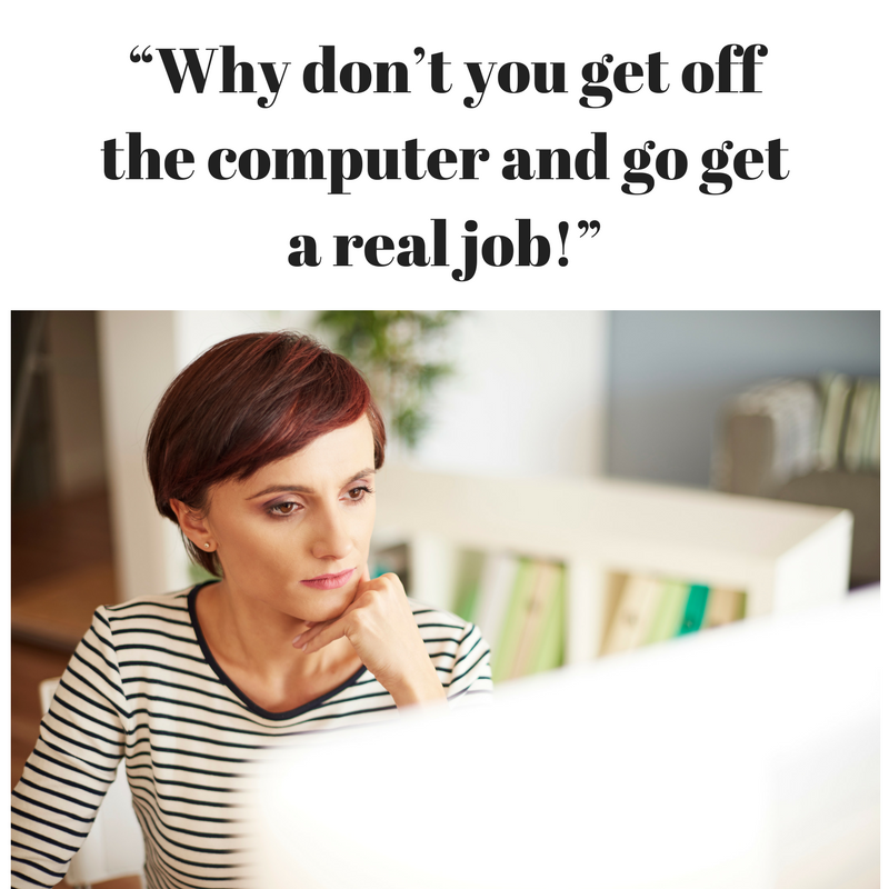 5 Things Not to Say to a Work at Home Professional