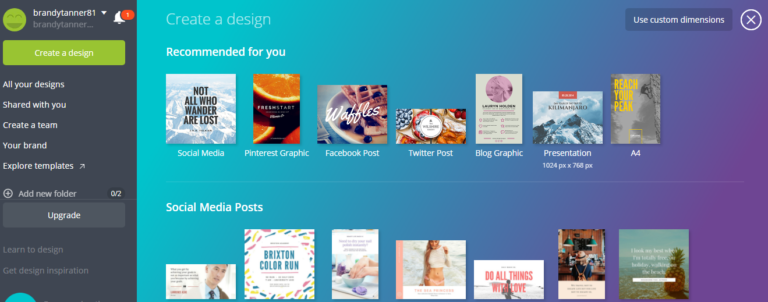 Create a Clickable PDF Image with Canva
