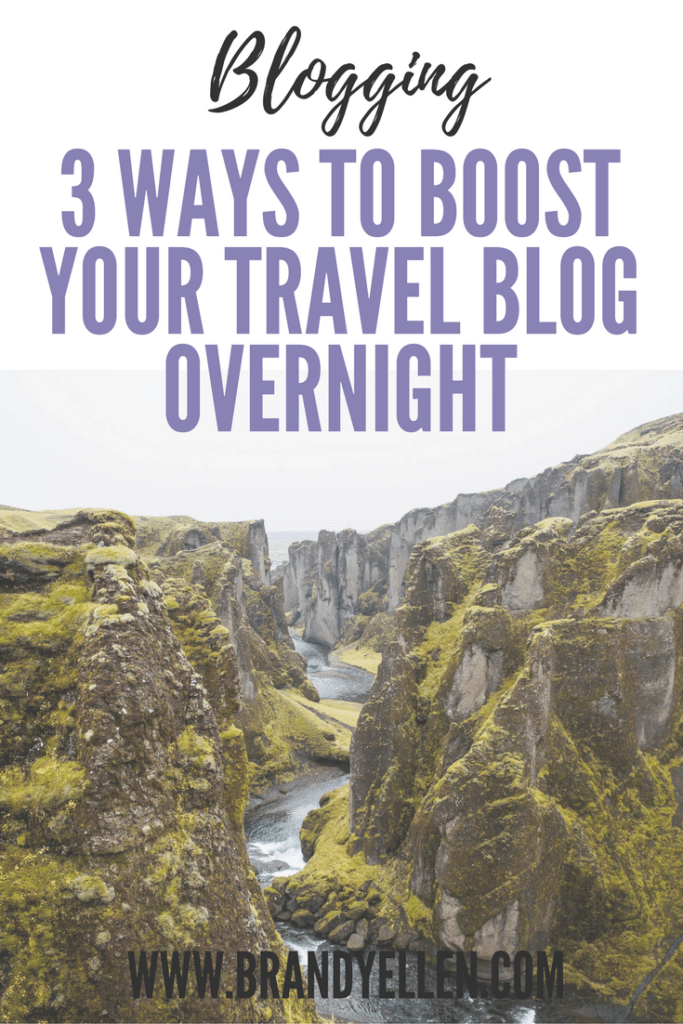 3 Ways To Boost Your Travel Blog Overnight