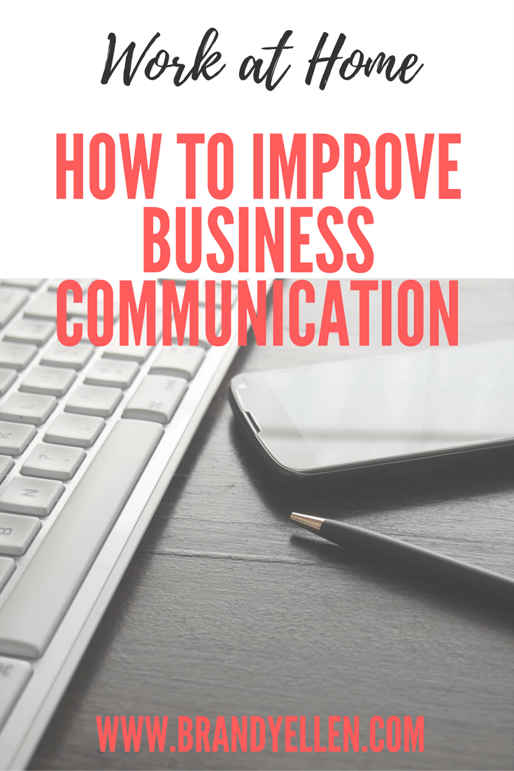 Tips to improve business communication, predominately when working with your spouse or another partner. Use these tips to speak better and listen more.