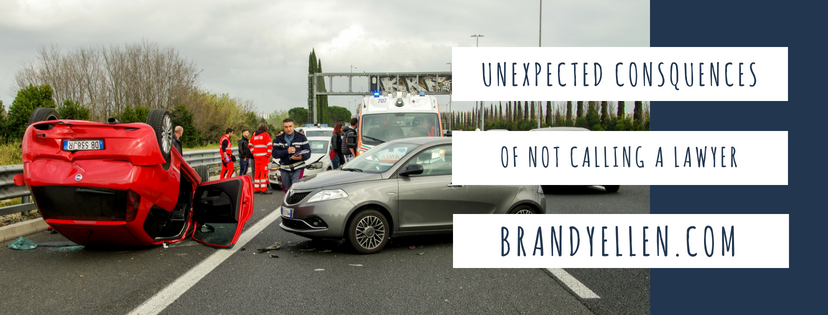 5 Unexpected Consequences of Not Calling a Lawyer After an Accident