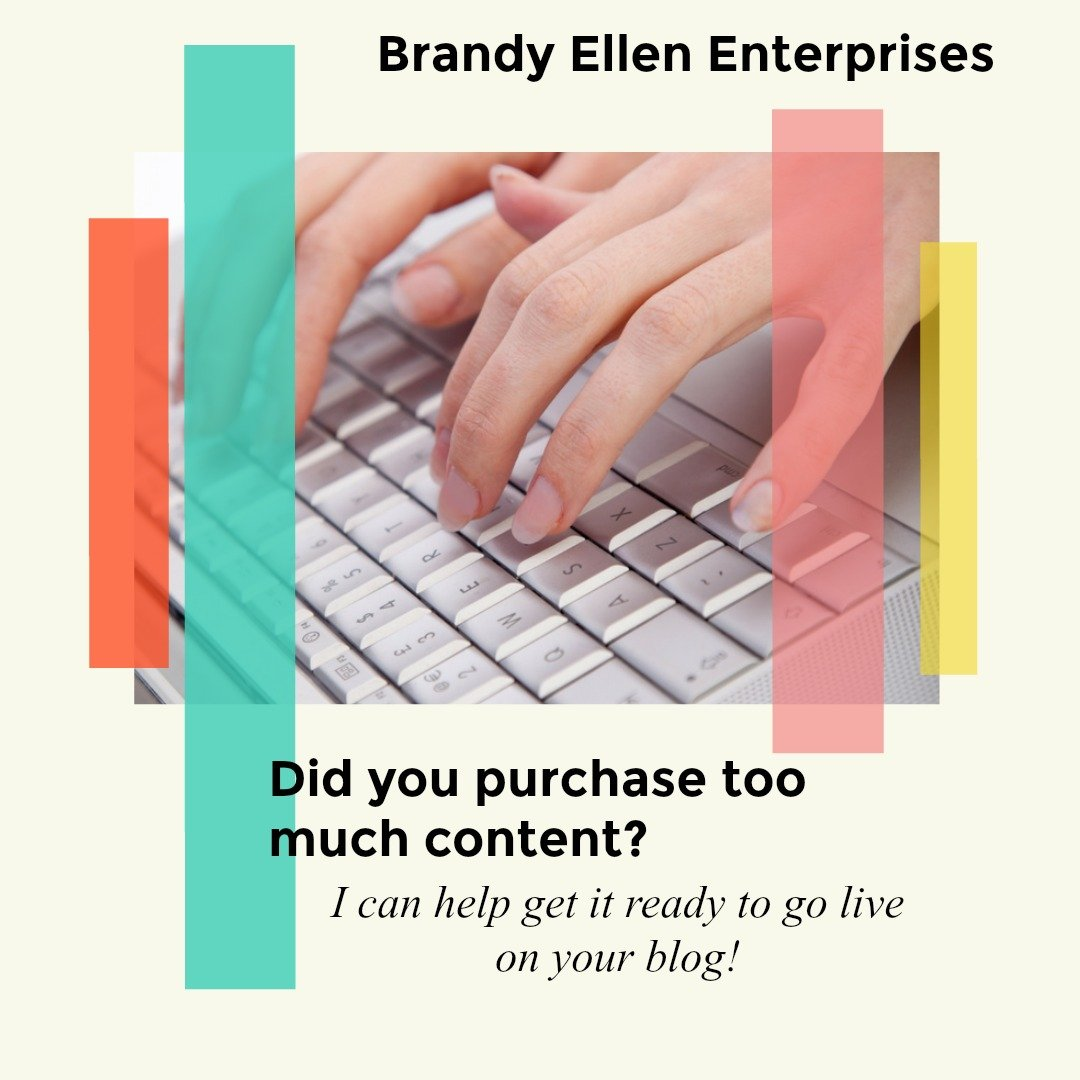 Hire Brandy Ellen to Write Evergreen blog content, reviews and more