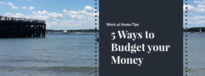 5 Ways to Stay on a Budget Yourself When You're Your Own Boss