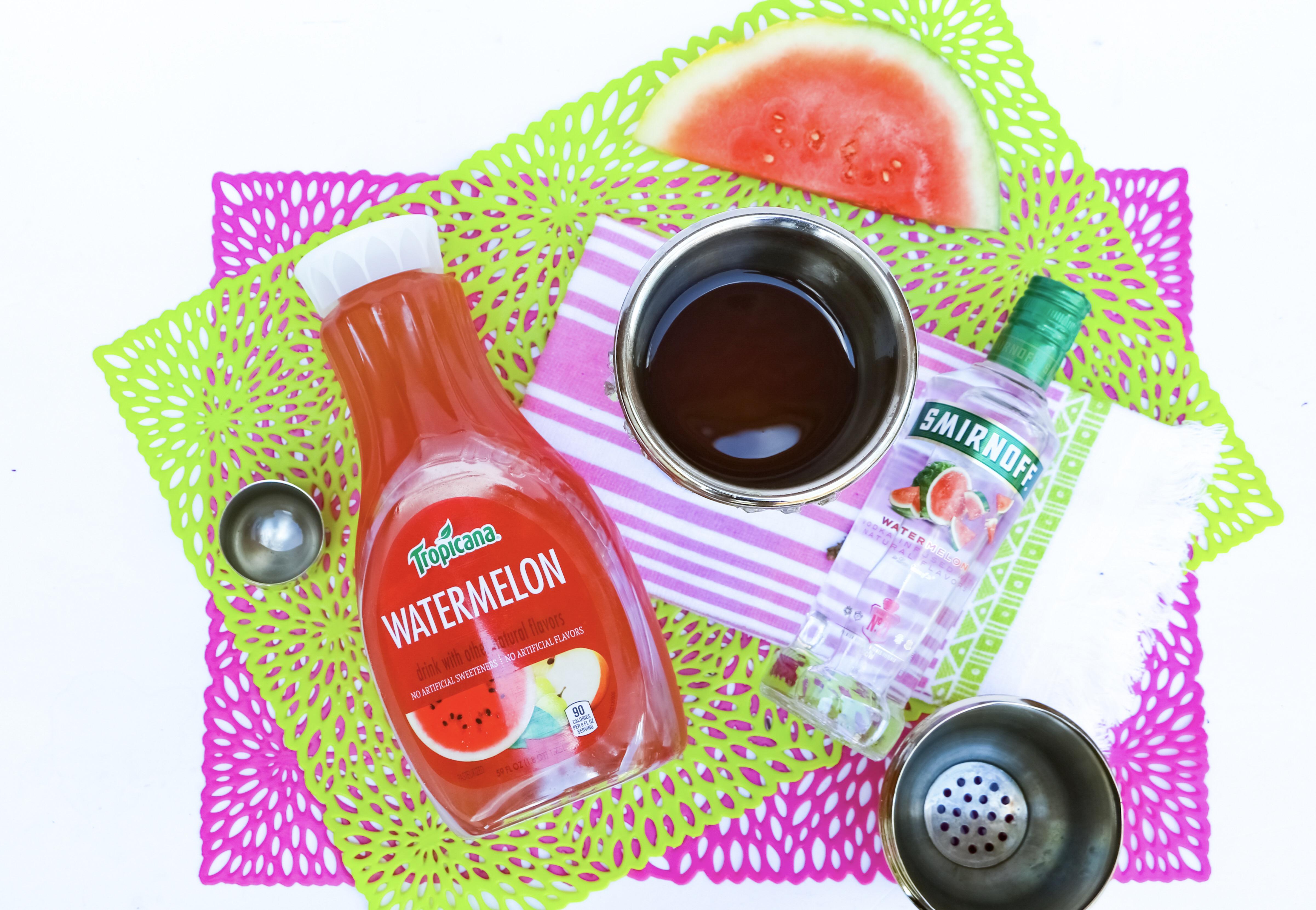 alcoholic watermelon treat