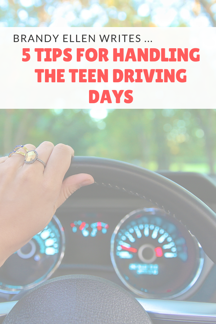 5 Tips for Handling The Teen Driving Days