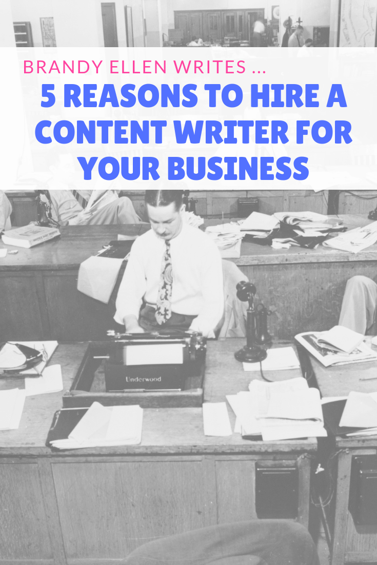 5 Reasons to Hire a Content Writer for Your Business