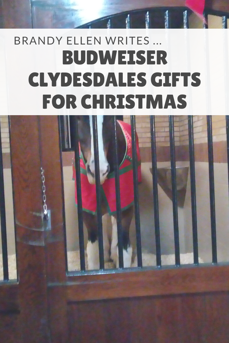Budweiser Clydesdales Gifts for Christmas 2018