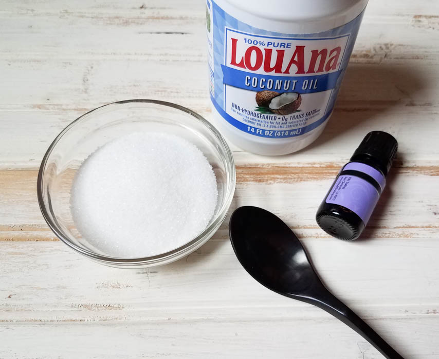 How do you Make Homemade Exfoliating Scrub