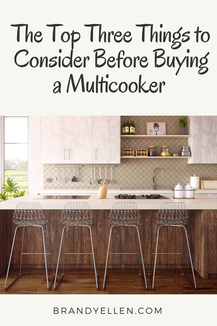 The Top Three Things to Consider Before Buying a Multicooker