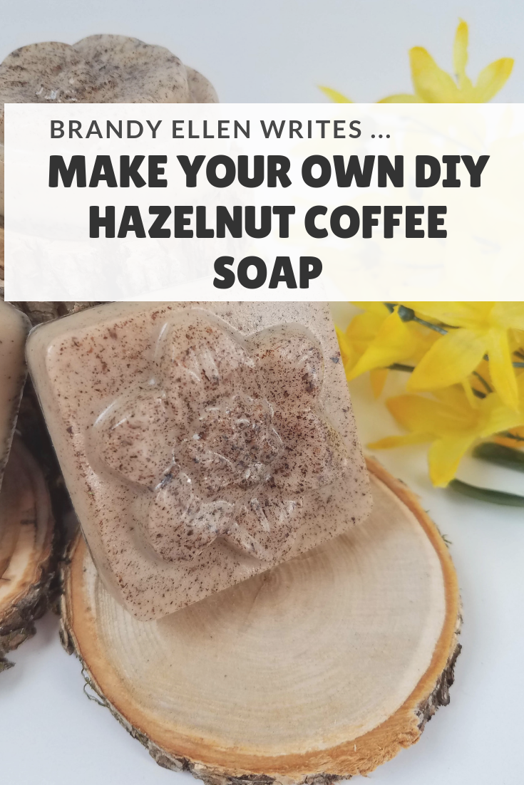 Make Your own DIY Hazelnut Coffee Soap