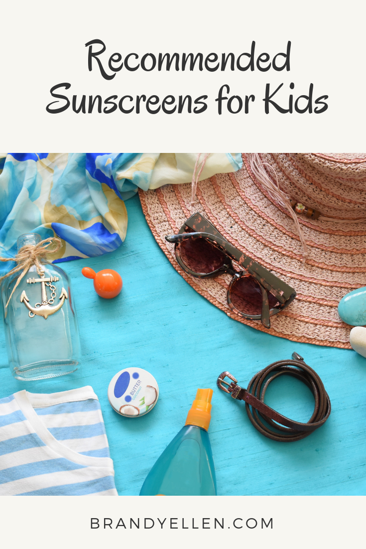 Recommended Sunscreens for Kids