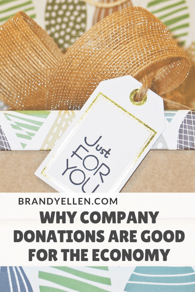 Why Company Donations are Good for the Economy