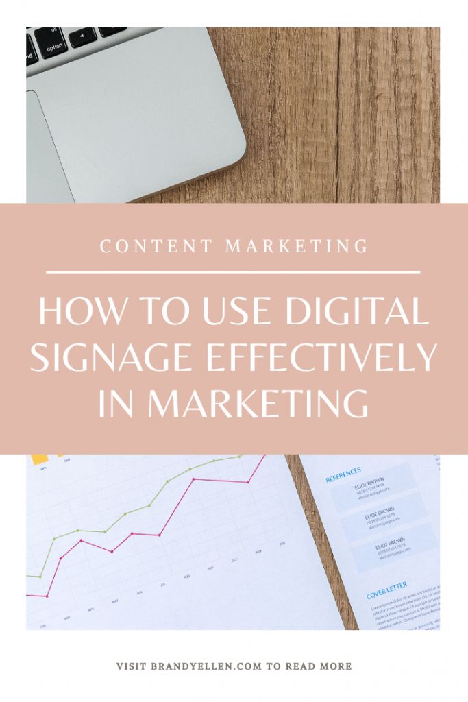 How To Use Digital Signage Effectively in Marketing