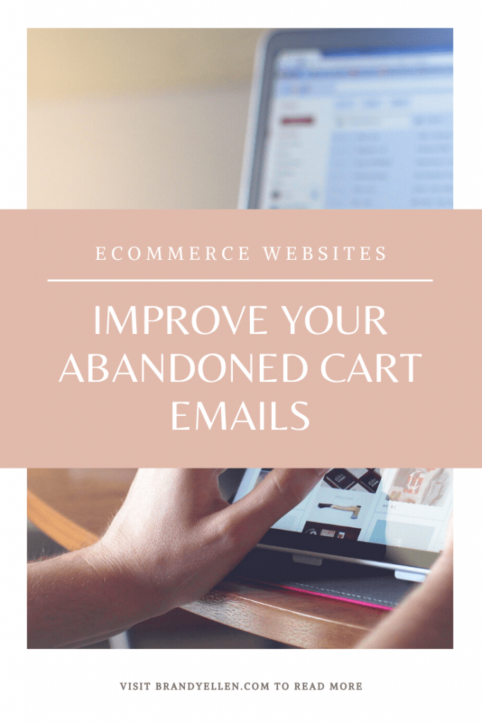 Improve Your Abandoned Cart Emails
