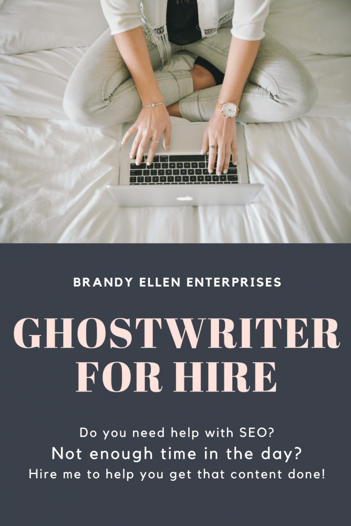 Ghostwriter for hire
