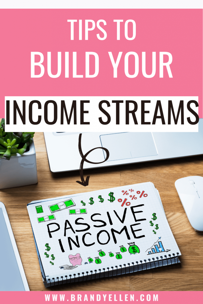 tips to build your income streams