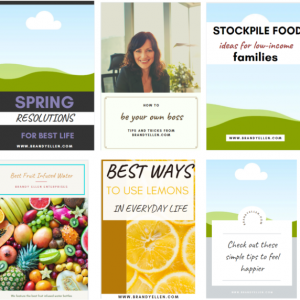 10 PackEditable Canva Pinterest Templates