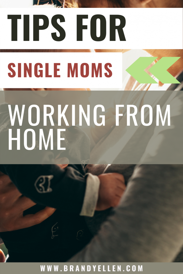 Tips for the Single Mom Working From Home