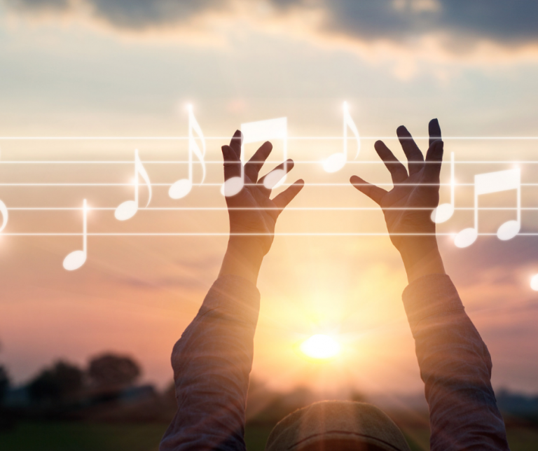 How Music Helps Me Stay Content